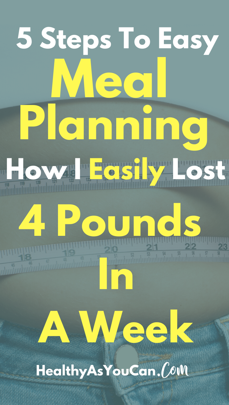 woman with measuring tape around her stomach meal planning for weight loss beginners