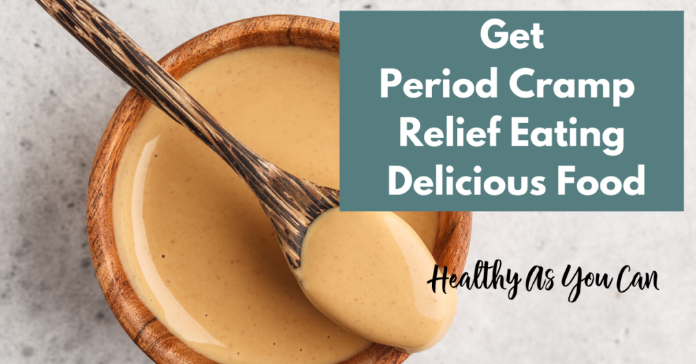 peanut gives you period cramp relief
