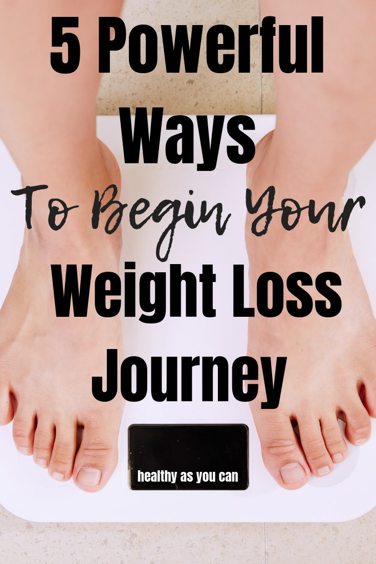 5 Things To Do Before Your Weight Loss Journey (1)