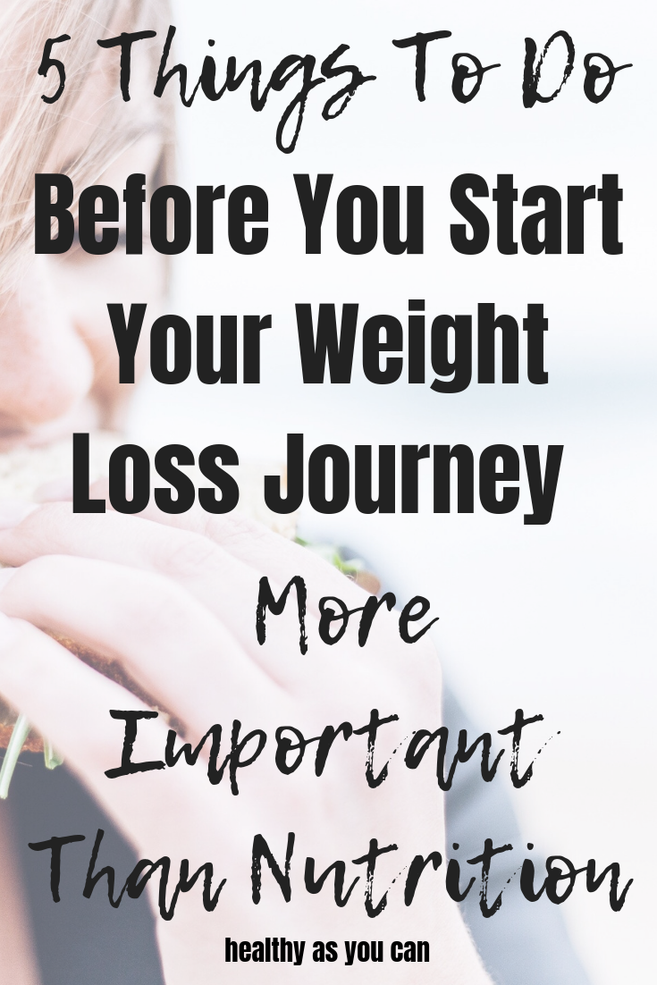 starting your weight loss journey as a beginner