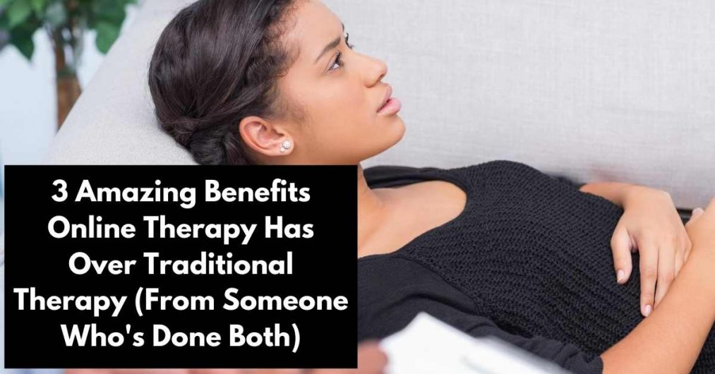 woman getting therapy
