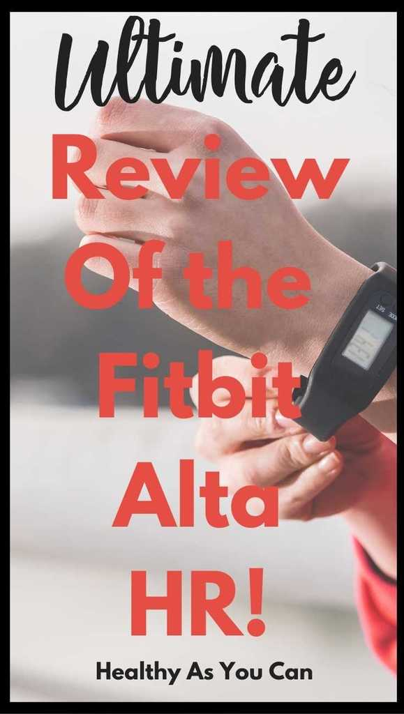 review of fitbit alta hr