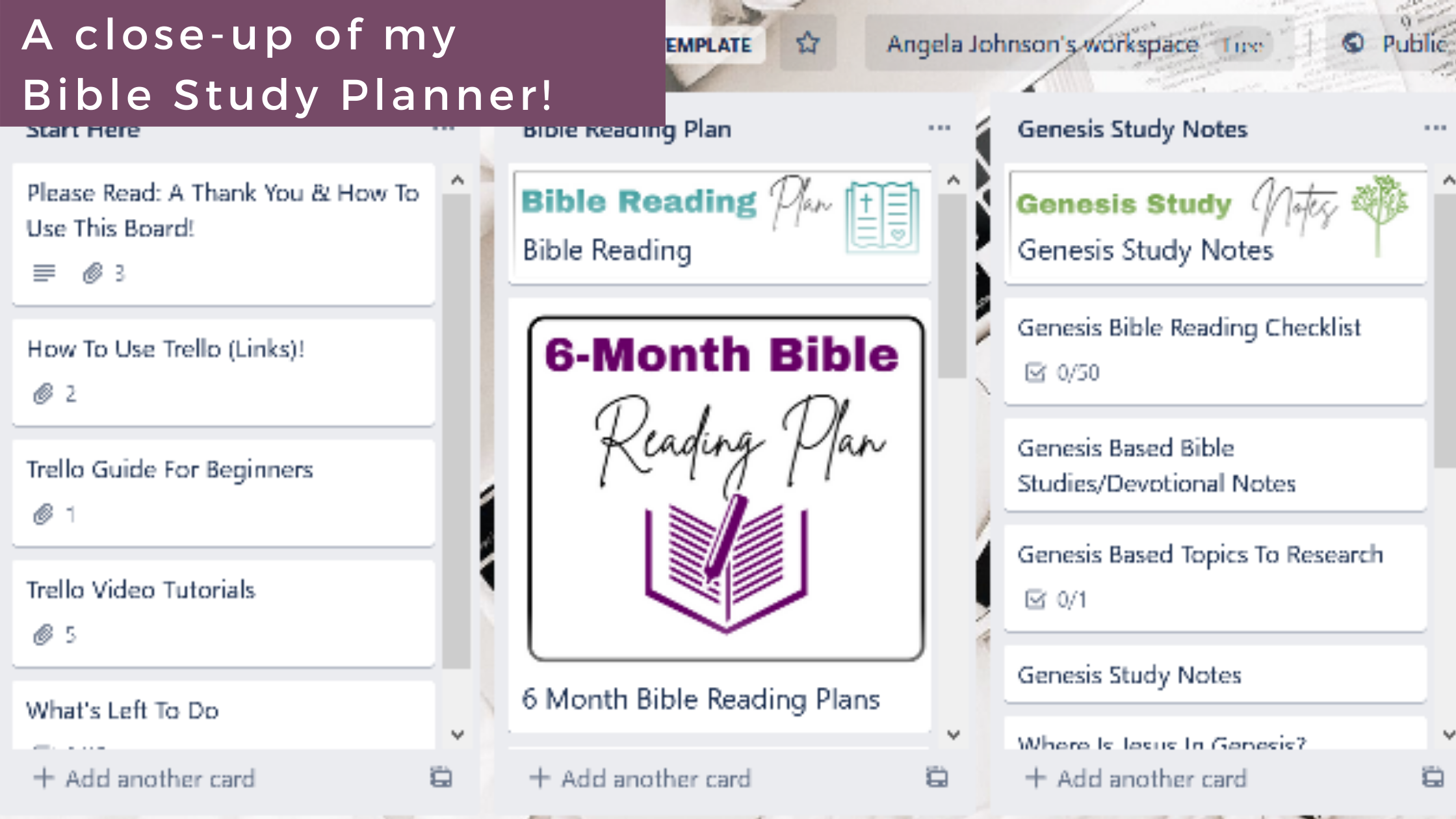digital bible study planner and journal