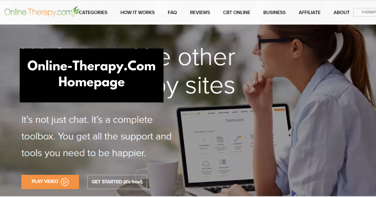 online-therapy.com homepage