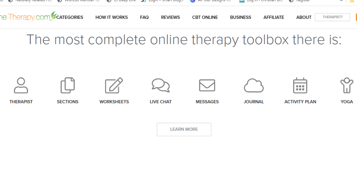 tools available at online-therapy.com